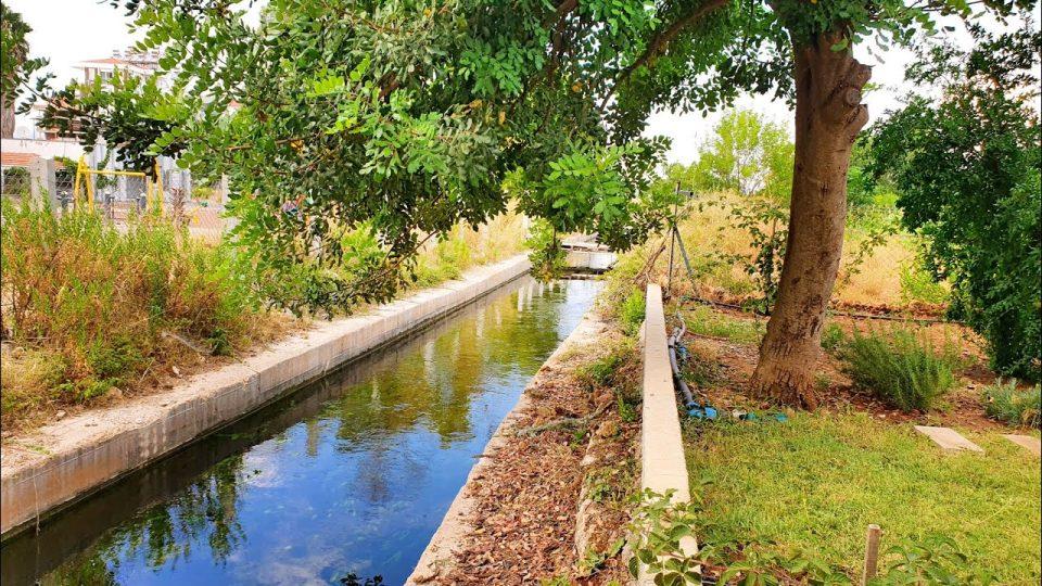 Döşemealtı Sulama Kanalı – Antalya Kırkgöz'den gelen su