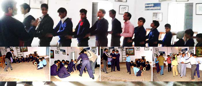 Personality Development of Visually Impaired through Theatre