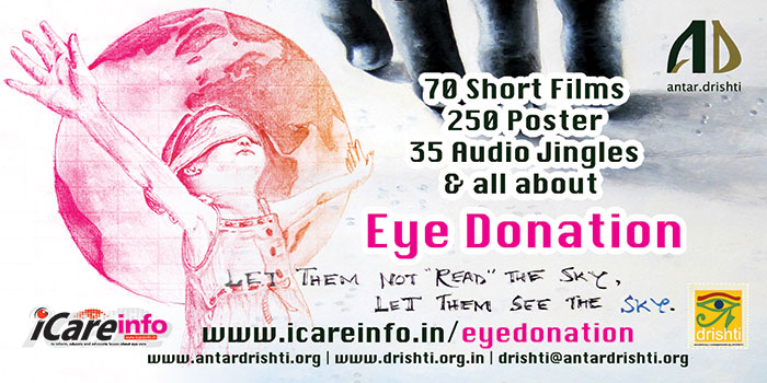 Eye Donation Short Film, Poster, Audio Jingles