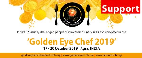 Support Golden Eye Chef 2019