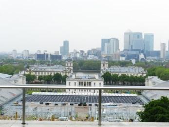 Panorama di Londra dal Royal Observatory di greenwich