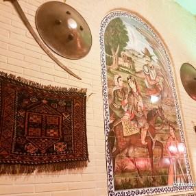 Sala da té nel Vakil Bazar, Shiraz