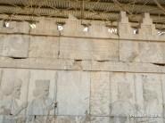 Simbolo Zoroastriano sulla scalinata del Palazzo dell'Apadana, Persepolis