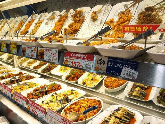 オリジンのお惣菜コーナー