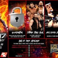 WWE 2K17 DLC Info & Roster Art Part 2