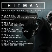 HITMAN November Update Includes New Offline Profile And More