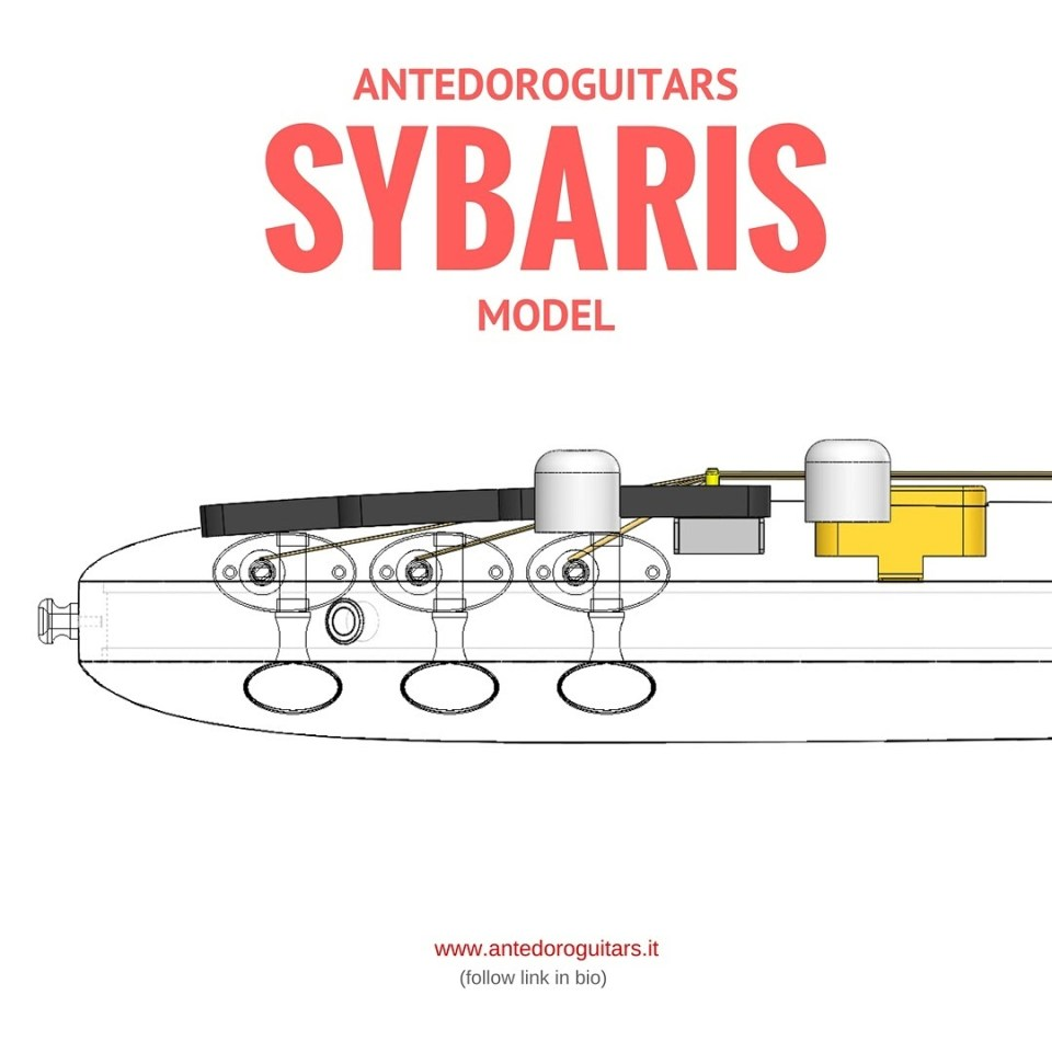 AntedoroGuitars - Sybaris Model
