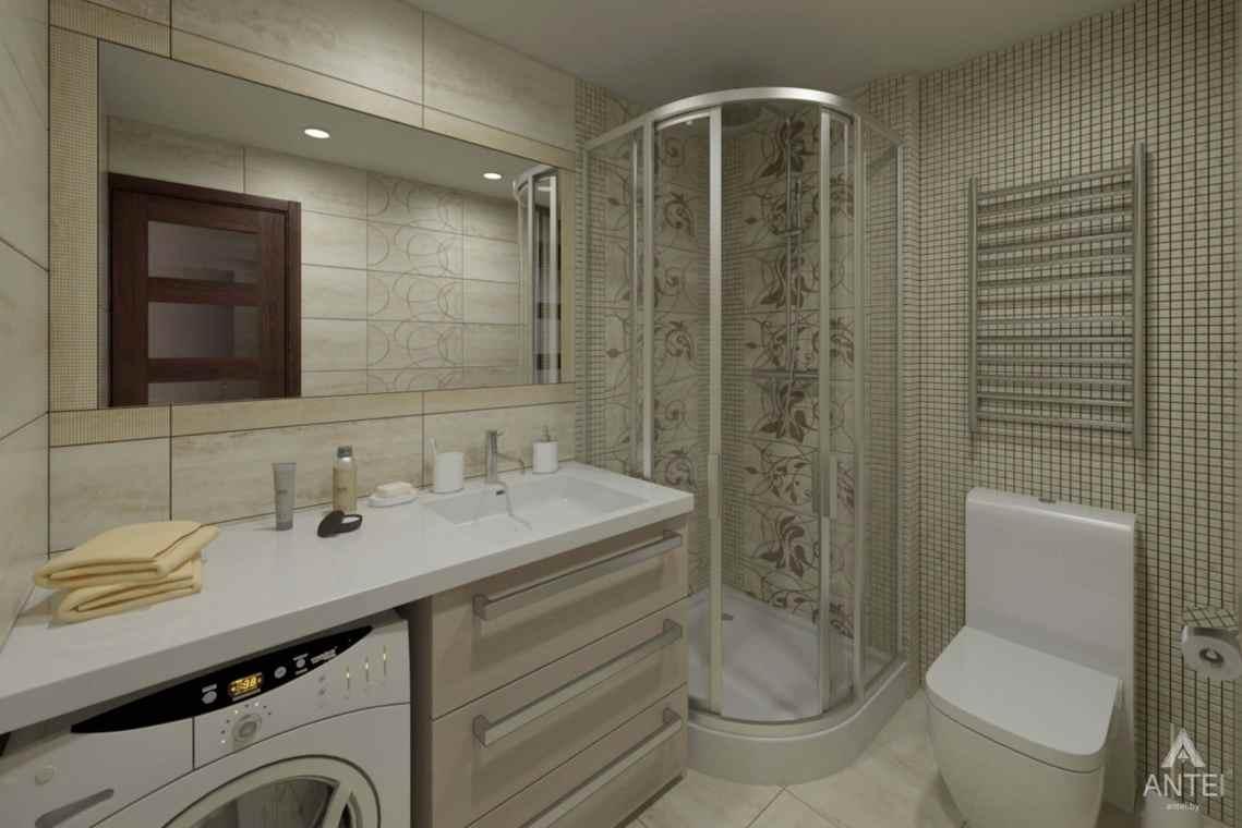 Дизайн интерьера квартиры в г. Гомеле, ул. Кожара, 55 - ванная фото №1