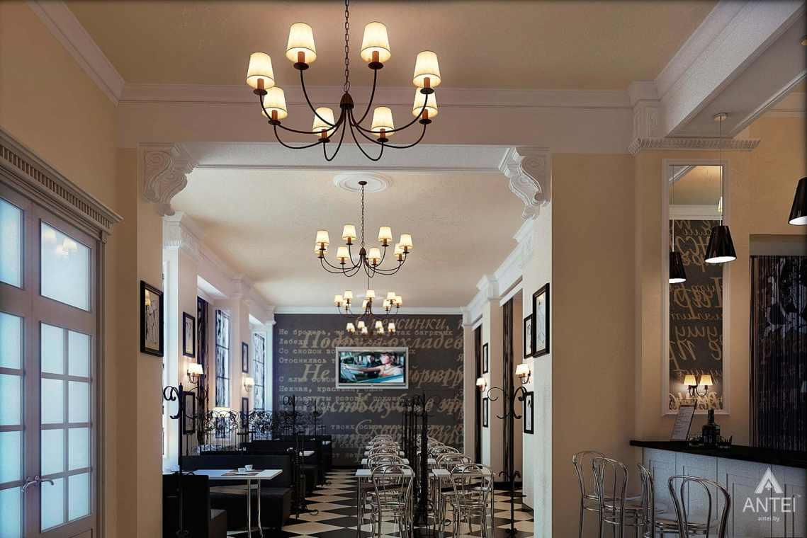 Дизайн интерьера кафе в Гомеле - фото №4