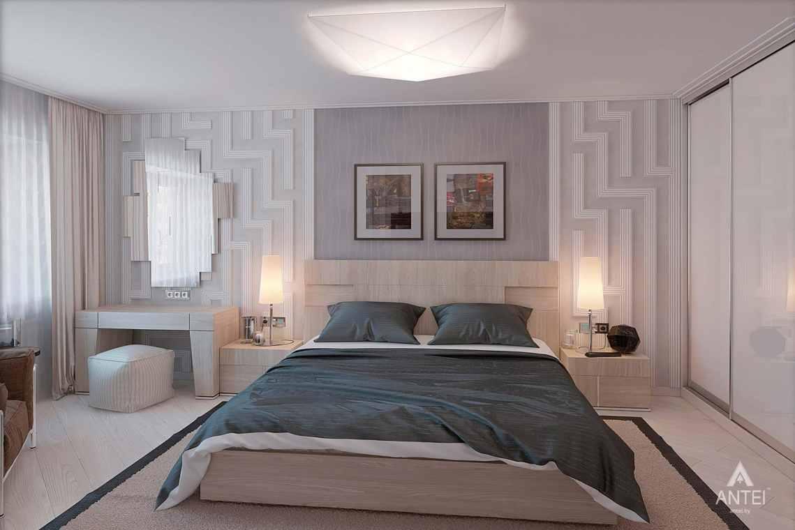 Дизайн интерьера квартиры в России - спальня фото №3