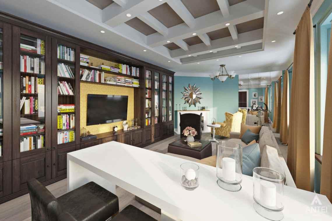 Дизайн интерьера квартиры в Гомеле, Проспект Ленина, 51 - зал фото №1