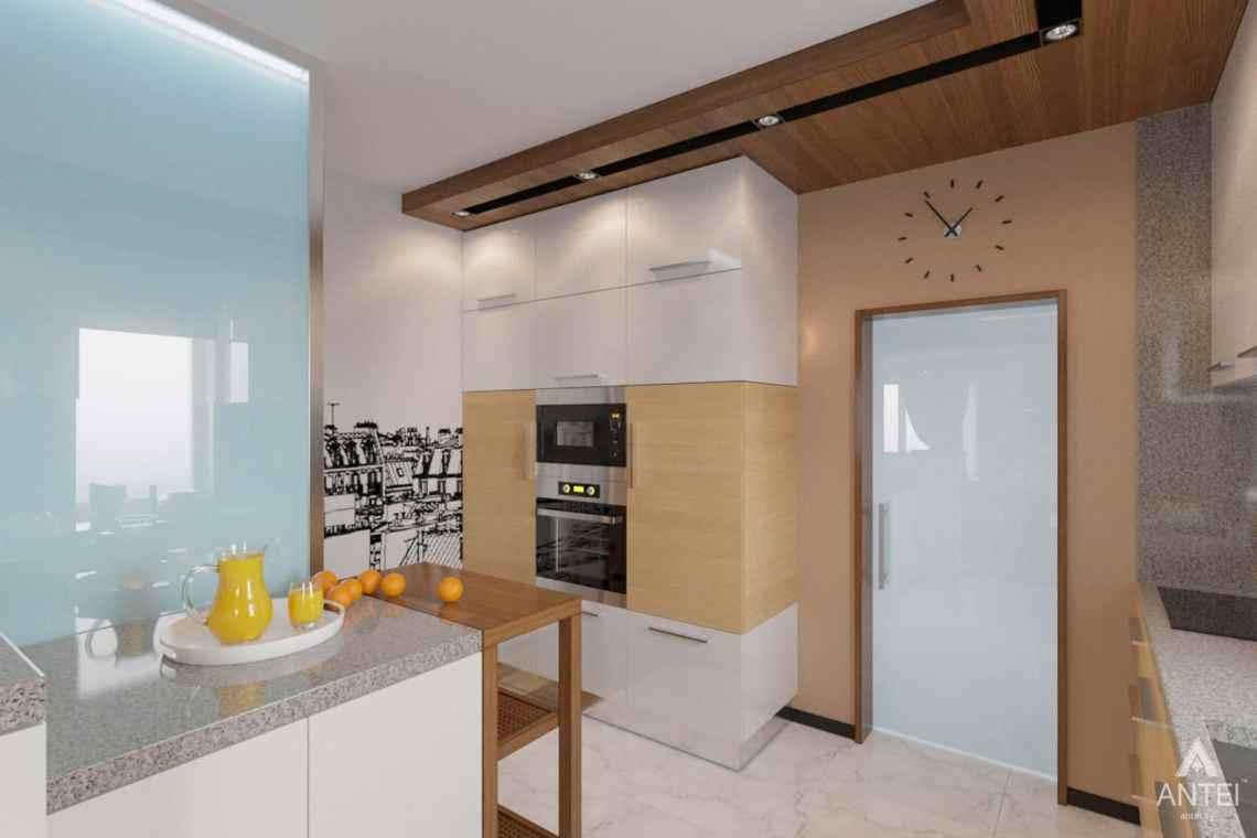 Дизайн интерьера загородного дома в п. Улуковье, Гомельский р-н - кухня фото №4
