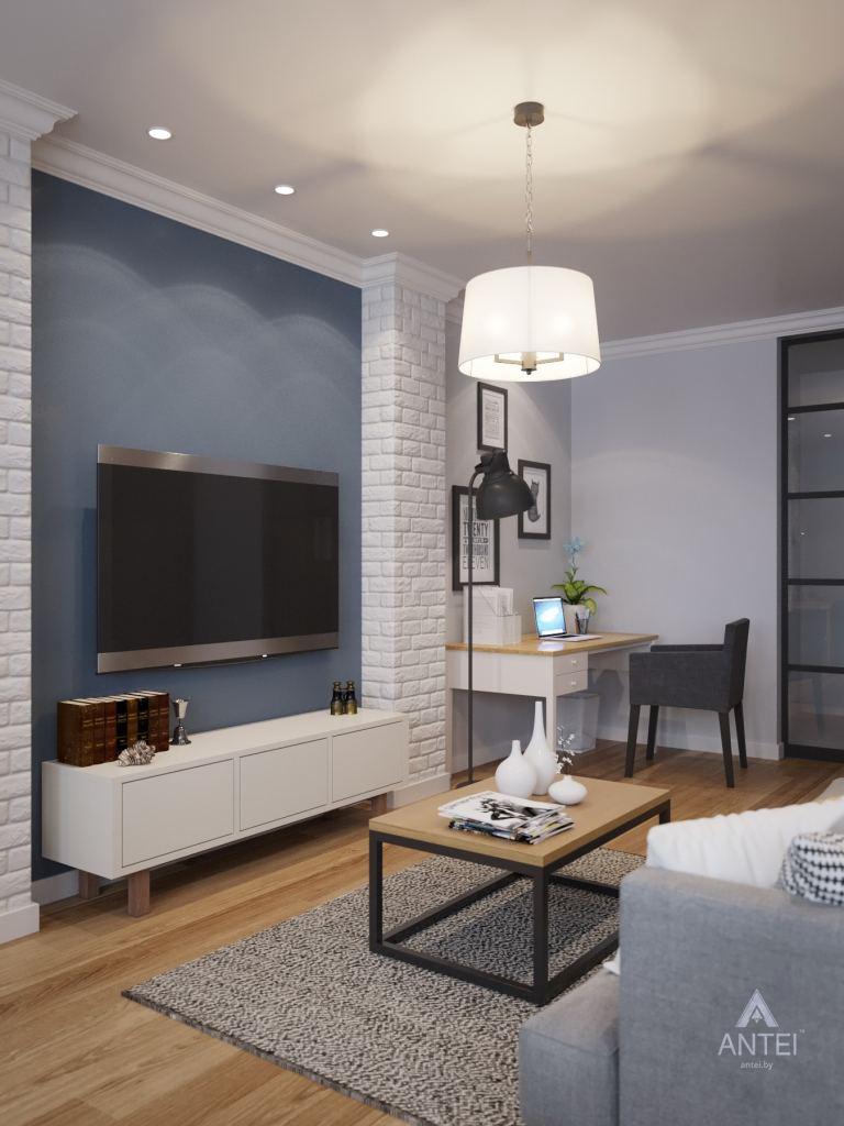 Дизайн интерьера квартиры в Гомеле, ул. Волотовская - гостиная фото №6