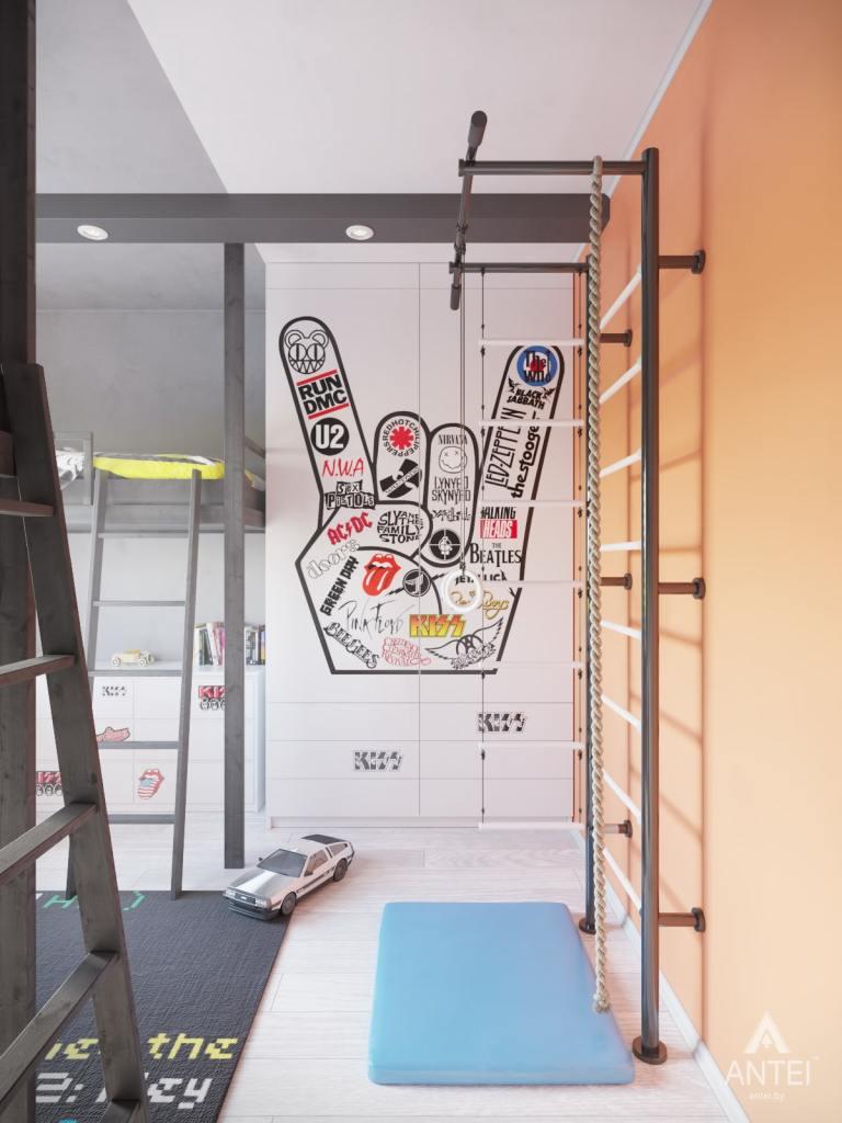Дизайн интерьера квартиры в Гомеле, ул. Пенязькова - детская комната фото №1