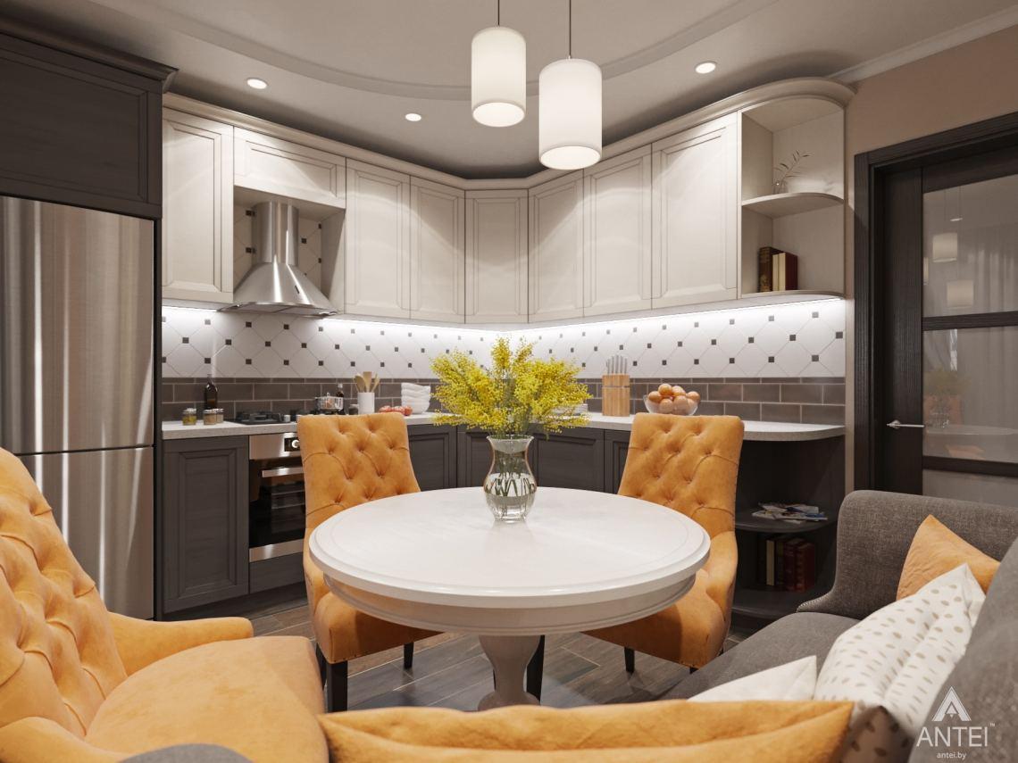 Дизайн интерьера квартиры в Гомеле, ул. Мазурова - кухня фото №1