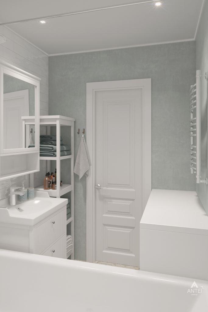 Дизайн интерьера квартиры в Гомеле, ул. Барыкина - ванная фото №3