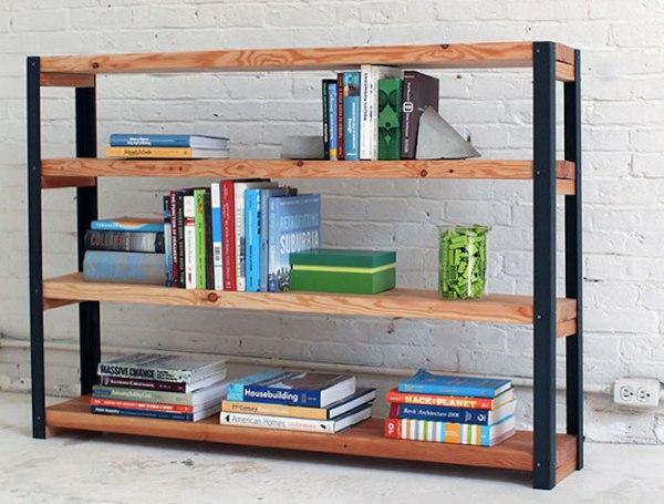 Полки для книг на стену фото – 40 Уникальных стеллажей и ...
