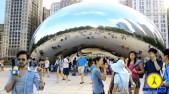 """La escultura """"Puerta del Cielo"""" en Chicago, pesa 98 toneladas! Son 1.441 Botis, unos 98.000 kilogramos!"""