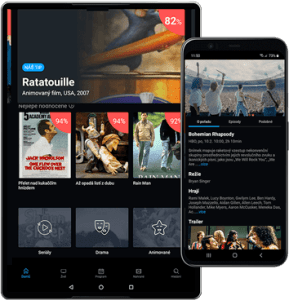 Android aplikace Telly
