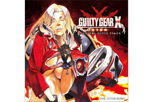 GUILTY GEAR Xrd SIGN ORIGINAL SOUND TRACK CD