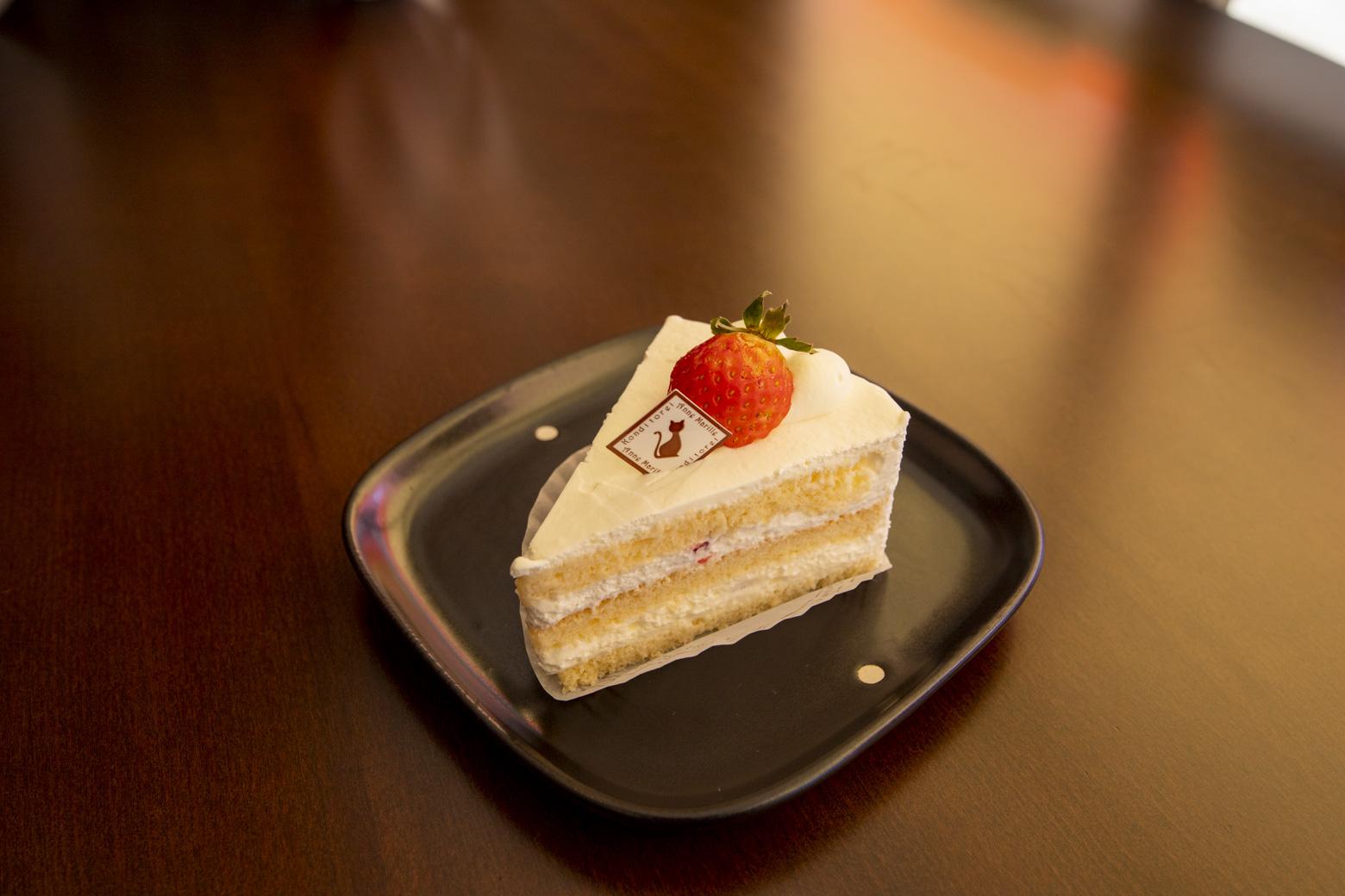 夏秋いちごのショートケーキ