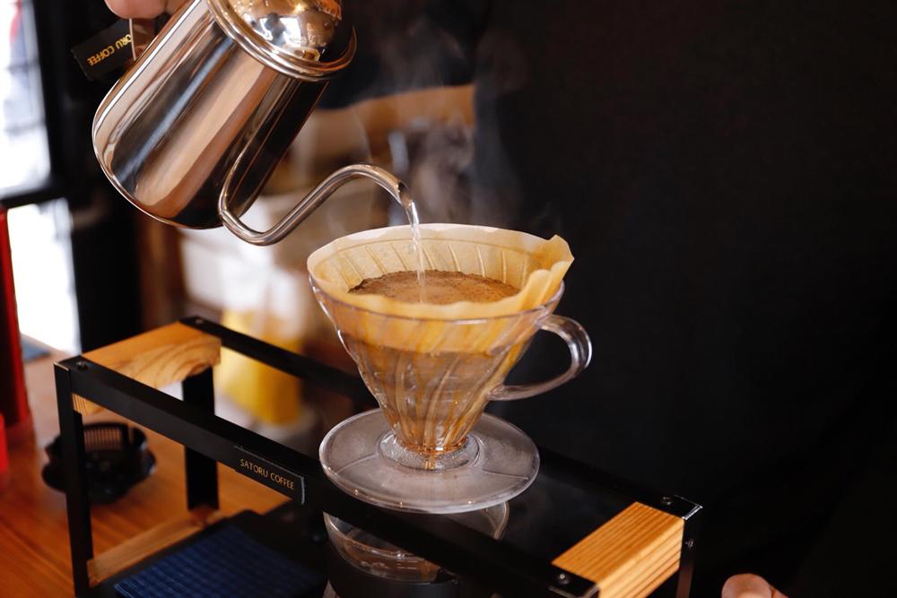 コーヒースタンドスタイルのサトルコーヒー