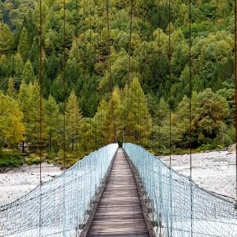 不動沢吊橋
