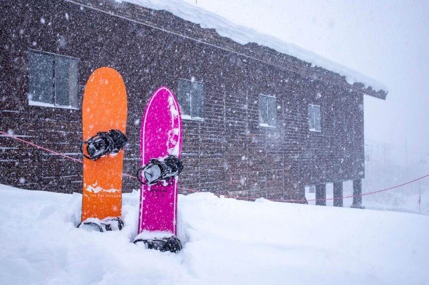 白馬エリア積雪