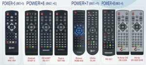 Пульт для приставок DVB T2 6