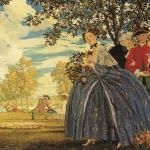 Выставка живописи и графики Константина Сомова пройдет в KGallery