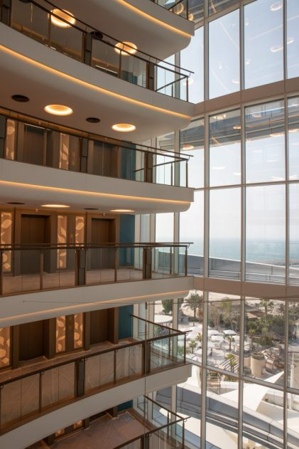 Jumeirah-Beach-Hotel-Atrium-View