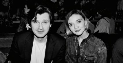 Марина Барыкина с мужем