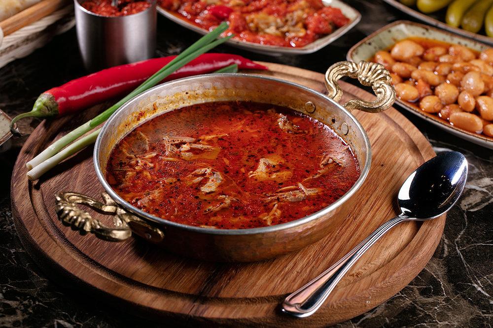 Турецкие супы в картинках