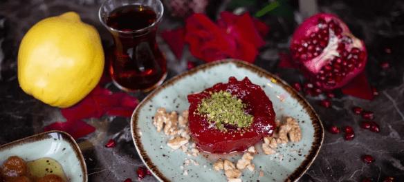 Десерт из айвы