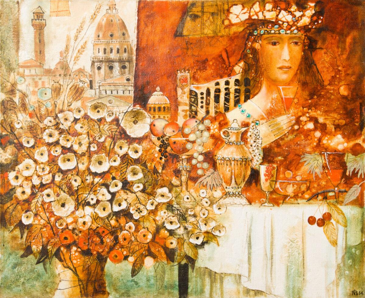 Выставка Николая Цветкова «Мелодии белых ночей»