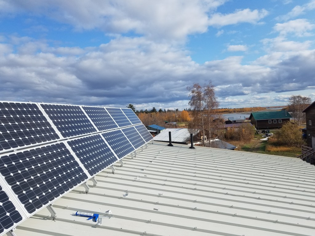 Beaver's solar project added 30 new panels.