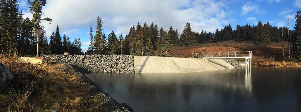 Ouzinkie's hydroelectric dam