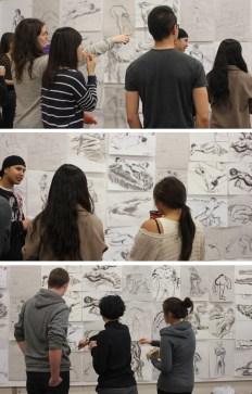 Drawing Explorations critique, Western University, 2011.