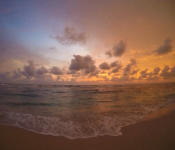 sunset in Philippines