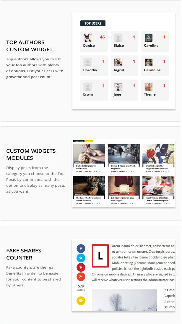 Omago News - User Profile Membership & Content Sharing Theme - 1