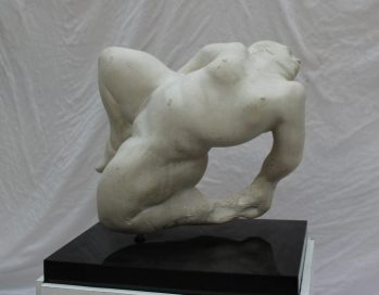 Peter William Nicholas, F.R.B.S. A.R.C.A. (1934-2015) - Hussanah, Reclining nude. Sold for £850 at Anthemion Auctions