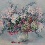 Valerie Ganz - Hydrangeas & Kaffir-Lilies, Watercolour. Sold at Anthemion Auctions for £170