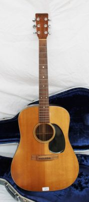 A C F Martins & Co. guitar D-18 No.377200, in a Martin hard lined case. Sold for £980 at Anthemion Auctions