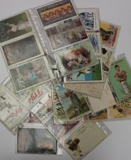 A large quantity of circa 188 postcards depicting scenes in Newport. Sold for £410 at Anthemion Auctions