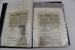 Cardiff City A F C 1927/1928 a collection of 33 home match programmes, all lacking their covers, ex-binder. Sold for £400 at Anthemion Auctions