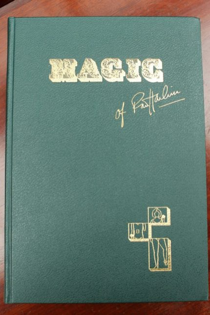 Harbin (Robert) Magic of Robert Harbin M.I.M.C illustrated by the author, edited by Peter Warlock M.I.M.C, printed by C.W Mole and Sons, ltd, first edition 1970, no.78, in original cardboard delivery sleeve together with a signed income tax slip agreement sheet, a typed letter to the purchased signed by Harbin and a hand written letter on Robert Harbin headed paper. Sold for £700 at Anthemion Auctions