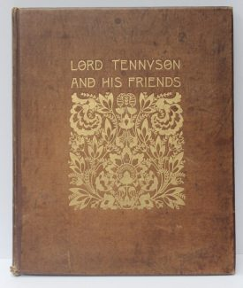 Alfred, Lord Tennyson and his friends, a series of 25 Portraits and Frontispiece in Photogravure from the negatives of Mrs Julia Margaret Cameron and H.H.H. Cameron, reminiscences by Anne Thackeray Ritchie with introduction by H.H. Hay Cameron, 1893, No 320/400. Sold for £1,100 at Anthemion Auctions
