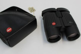 A pair of Leica 7 x 42 BA binoculars (cased). Sold for £390 at Anthemion Auctions