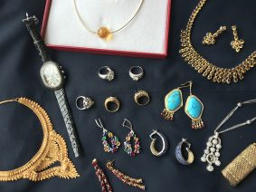 A selection of jewellery to be featured in our 23rd May fine sale