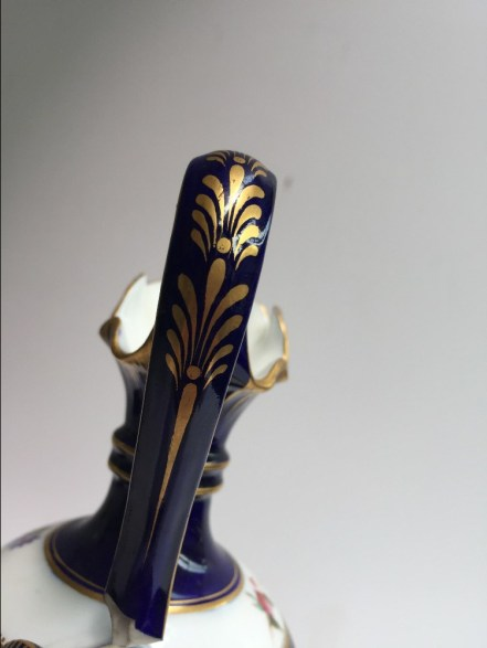 Anthemion on a jug handle